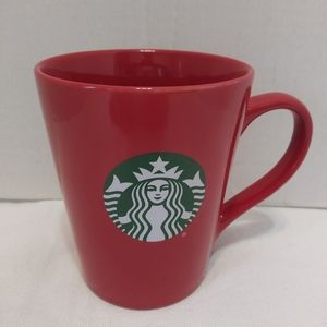 Rare Starbucks 2017 Red With White Lettering 12 oz